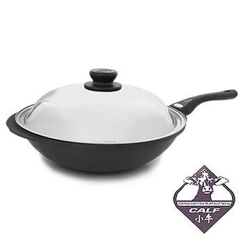牛頭牌 新型黑石炒鍋33cm(單把)