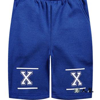 【男人幫】雙XX加厚休閒短褲(K0496) 高磅數