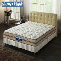 ~Sleep tight~二線高蓬度 舒柔布 免翻面 蜂巢式獨立筒床墊 實惠型 ~5尺雙人