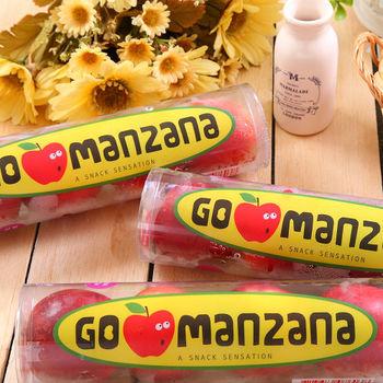 【一等鮮】紐西蘭櫻桃小蘋果4管(4~5粒/300g+-10%/管)