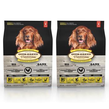 【Oven-Baked】烘焙客 成犬雞肉口味 大顆粒 12.5磅 X 2包