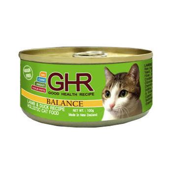 【PREMIER】健康主義 GHR無榖羊肉、鴨肉配方貓用主食罐 100G x 24入