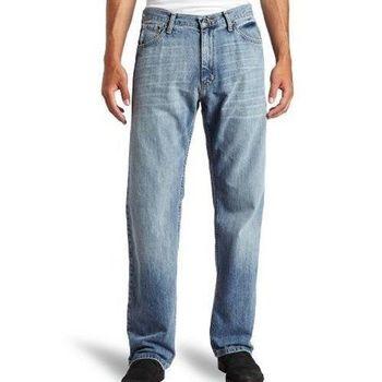 NAUTICA 2016男時尚寬鬆輕洗藍褪色牛仔褲(預購)