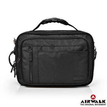 【美國 AIRWALK】移動城市多夾層三用電腦包(兩色)