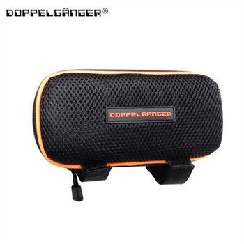 Doppelganger 日本潮牌單車 MP3 音響擴音置物包-黑