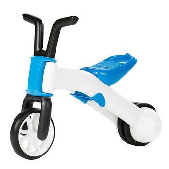 比利時Chillafish二合一漸進式玩具Bunzi寶寶平衡車-海水藍