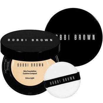 BOBBI BROWN 芭比波朗 自然輕透膠囊氣墊粉底SPF50/PA+++(13g)+盒