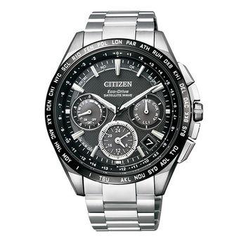 【CITIZEN星辰】金城武代言款 世界制霸光動能GPS腕錶(CC9015-54E)