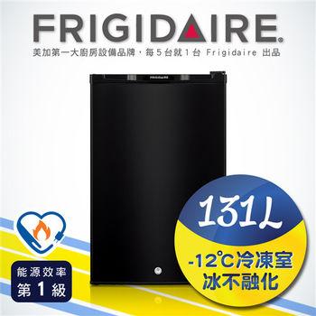 美國富及第Frigidaire 131L超低溫單門冰箱 黑色 FRT-1313M(福利品)