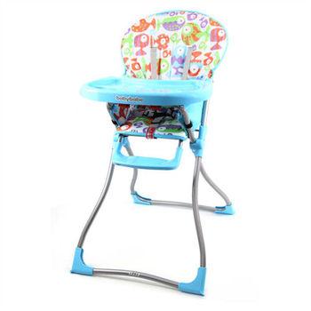 BabyBabe 兒童高腳餐椅(藍色)