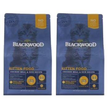 【Blackwood】柏萊富 特調幼貓成長配方(雞肉+米)13.23磅 X 2包