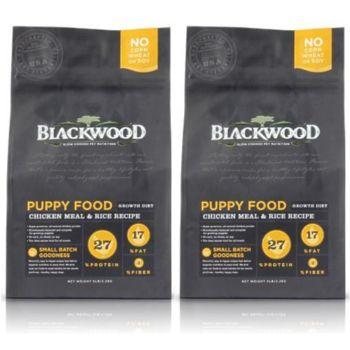 【Blackwood】柏萊富 幼犬 雞肉+米 犬糧 15磅 X 2包