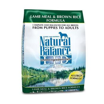【Natural Balance】美國NB 低敏系列 羊肉糙米-全犬 4.5磅 X 1包