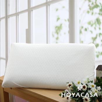 HOYACASA 天然乳膠枕(中)(二入)