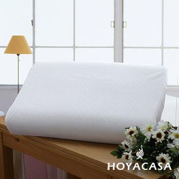 HOYACASA 人體工學乳膠枕(二入)