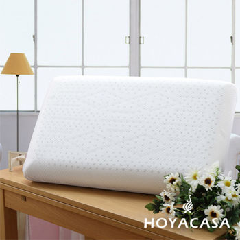 HOYACASA 溝槽工學乳膠枕(二入)