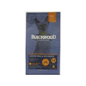 【Blackwood】柏萊富 室內貓全齡優活配方(雞肉+米)13.23磅 X 1包