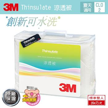 【3M】Thinsulate可水洗涼透被Z120 (標準雙人6x7)