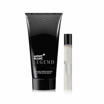 MONTBLANC Legend 萬寶龍傳奇經典男香限量隨行組 7.5ml+洗髮沐浴膠 50ml+防水袋