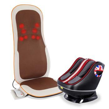 【BH】J150 揉揉腿美腿機+S750 摩舒師按摩椅墊