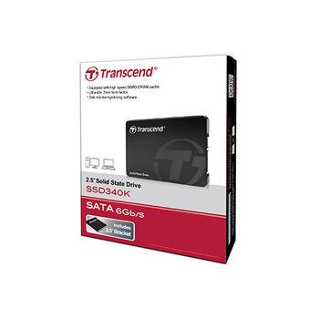 Transcend 創見 SSD 340K 128GB SSD 固態硬碟 TS128GSSD340K