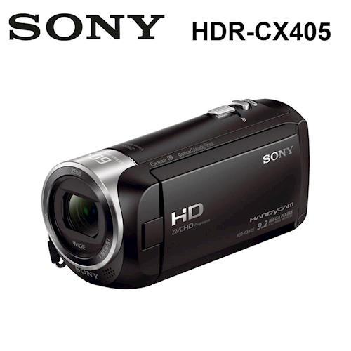[32G+電充組]SONY HDR-CX405 Full HD 高畫質數位攝影機-組合包(公司貨)