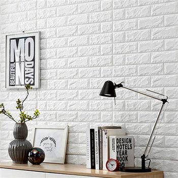 【買達人】3D隔音防水泡棉磚壁貼