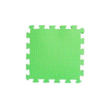 【新生活家】EVA抗菌地墊32x32x1cm-陽光綠30入