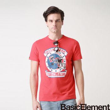 【BasicElement】男款橄欖球頭盔T-紅色
