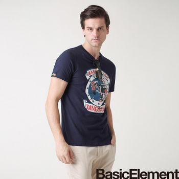 【BasicElement】男款橄欖球頭盔T-藏青