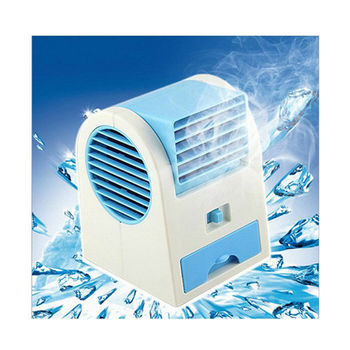 USB 帶香味空調風扇-藍