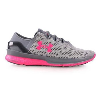 【UNDER ARMOUR】UA SPEEDFORM APOLLO2女慢跑鞋 灰桃紅