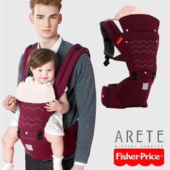 Fisher-Price艾瑞特腰凳式揹巾-酒紅色