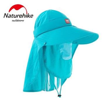 【Naturehike】氣質款速乾透氣遮陽帽/大沿帽/防曬帽(淺藍)