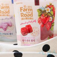 今年度最具 的軟糖 ~樂天LOTTE~田園軟糖 #45 草莓 #40 :10包 #41