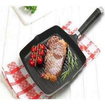 【御膳坊】鋁製雙層塗層英式煎烤盤 贈 御膳坊花碟悶燒真空食物罐500ML