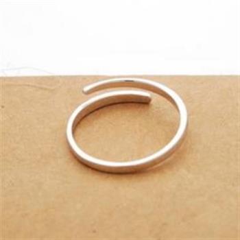 【米蘭精品】925純銀戒指純銀戒指精緻