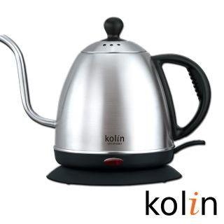 歌林Kolin 0.8L細口不銹鋼快煮壺KPK-MN0861