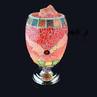 【SUMMER 寶石】時尚普普風-馬賽克鹽燈聚寶盆(觸控式開關-限量發售)