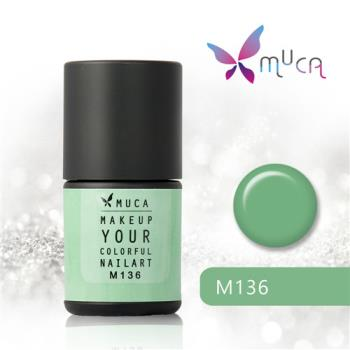 【Muca沐卡】迷幻森林語囈系列(M136-斑斕)光撩凝膠指甲油