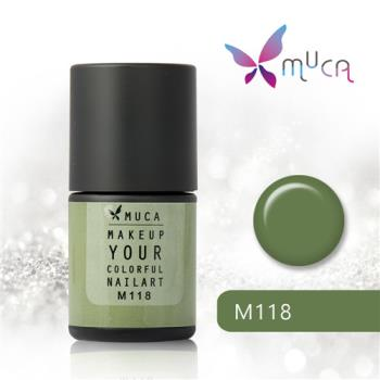 【Muca沐卡】迷幻森林語囈系列(M118-蹤跡)光撩凝膠指甲油