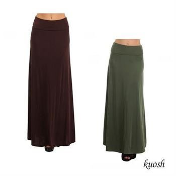 【Kuosh】美國進口高雅寬版長褲(NS-6095)