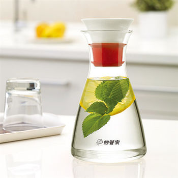 【妙管家】陶瓷玻璃壺/冷水壺1.0L HKP-028B