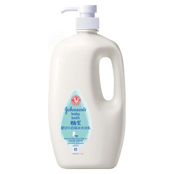 嬌生嬰兒牛奶純米沐浴乳1000ml