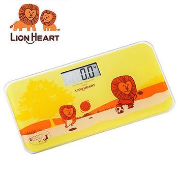 【獅子心Lion】電子體重計 LBS-009