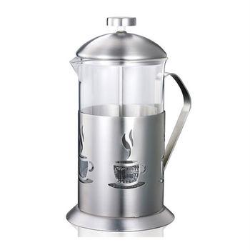 【妙管家】特級不鏽鋼沖茶器/泡茶器1.1L HKP-1100