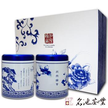 【名池茶業】手採高冷茶綜合款私房甄藏禮盒(大禹嶺x75克、福壽梨山x75克)