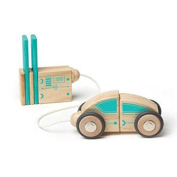 美國tegu安全無毒磁性積木 - 未來系列 - 磁力光速車