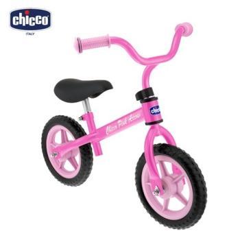 chicco幼兒滑步車-粉色