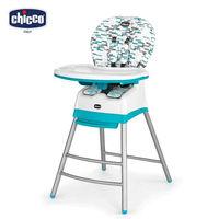chicco~Stack三合一多 成長高腳餐椅~波浪藍